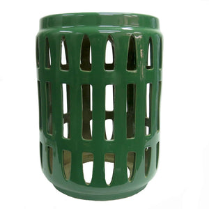 Stool Emerald Green Ceramic