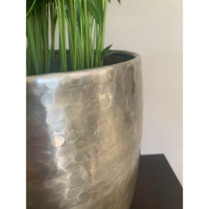 Planter Hammered Champagne Gold Planter (XL)