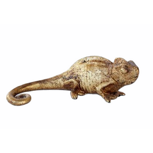 Ornament Gold Chameleon