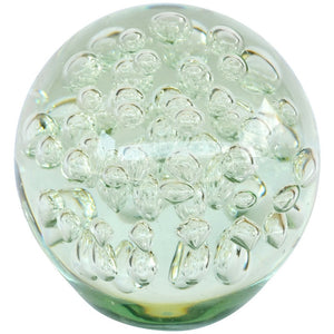 Glass Bubble Paperweight (Decorative)