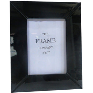 Photo Frame Contemporary Black Gloss
