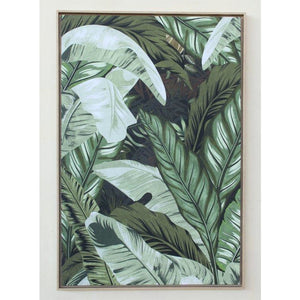 Framed Canvas Botanical Greens (LRG)