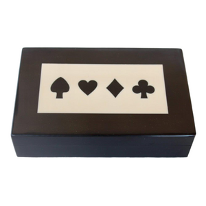 Games - Decorative Card and Dice Box