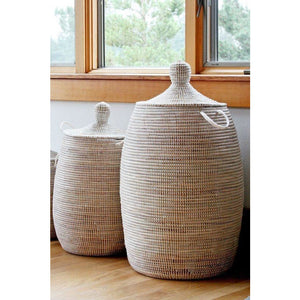 Woven Laundry Basket - African (LRG)