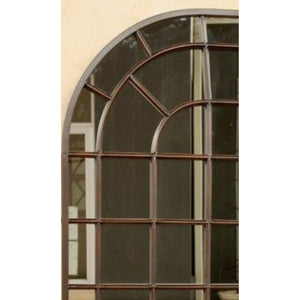 Mirror Metal Pane Arched 1,83m (XL)