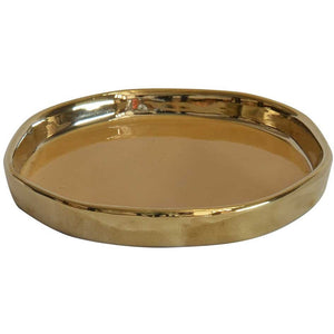 Gem Tray Mustard and Gold (SML)
