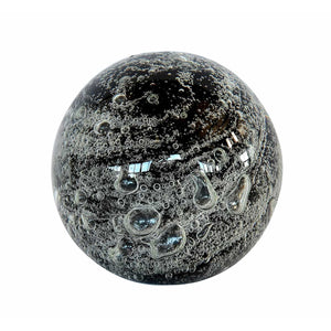 Paperweight Black Bubble