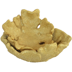 Coral Plate - Gold S/2