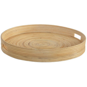 Tray Ralph Natural Round