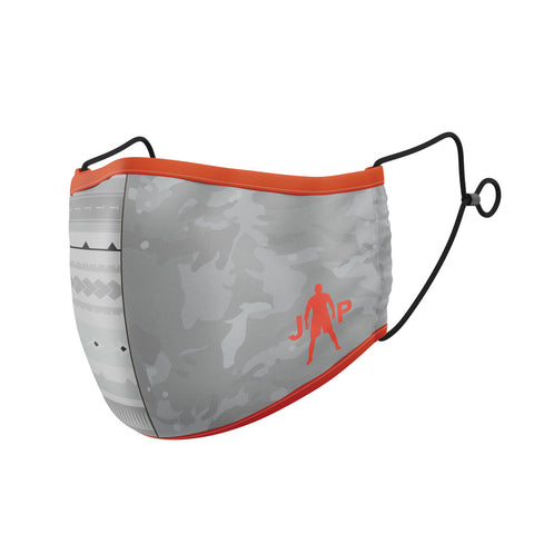 Joseph Parker Grey Red Camo Face Mask