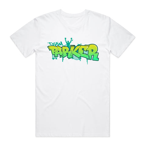 Joseph Parker Lime-Green Graphic Tee