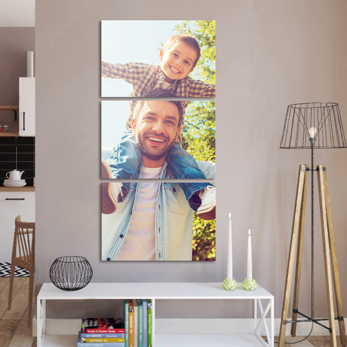 Custom Vertical Canvas Photo Prints