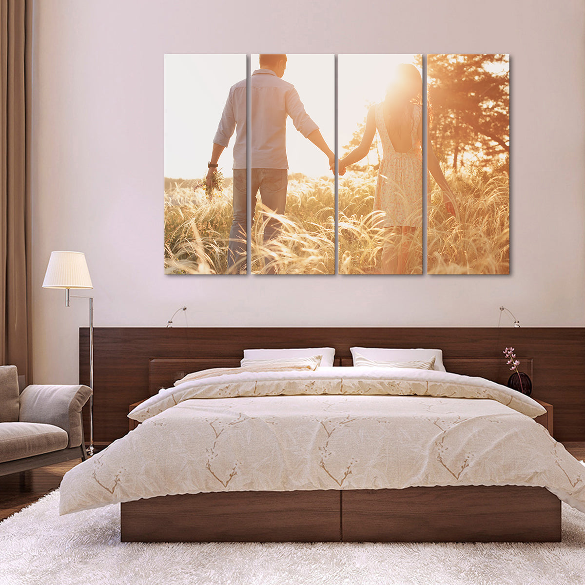 Custom Horizontal Canvas Photo Prints