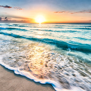 Sunset - Beach Canvas Wall Art Sub Collection
