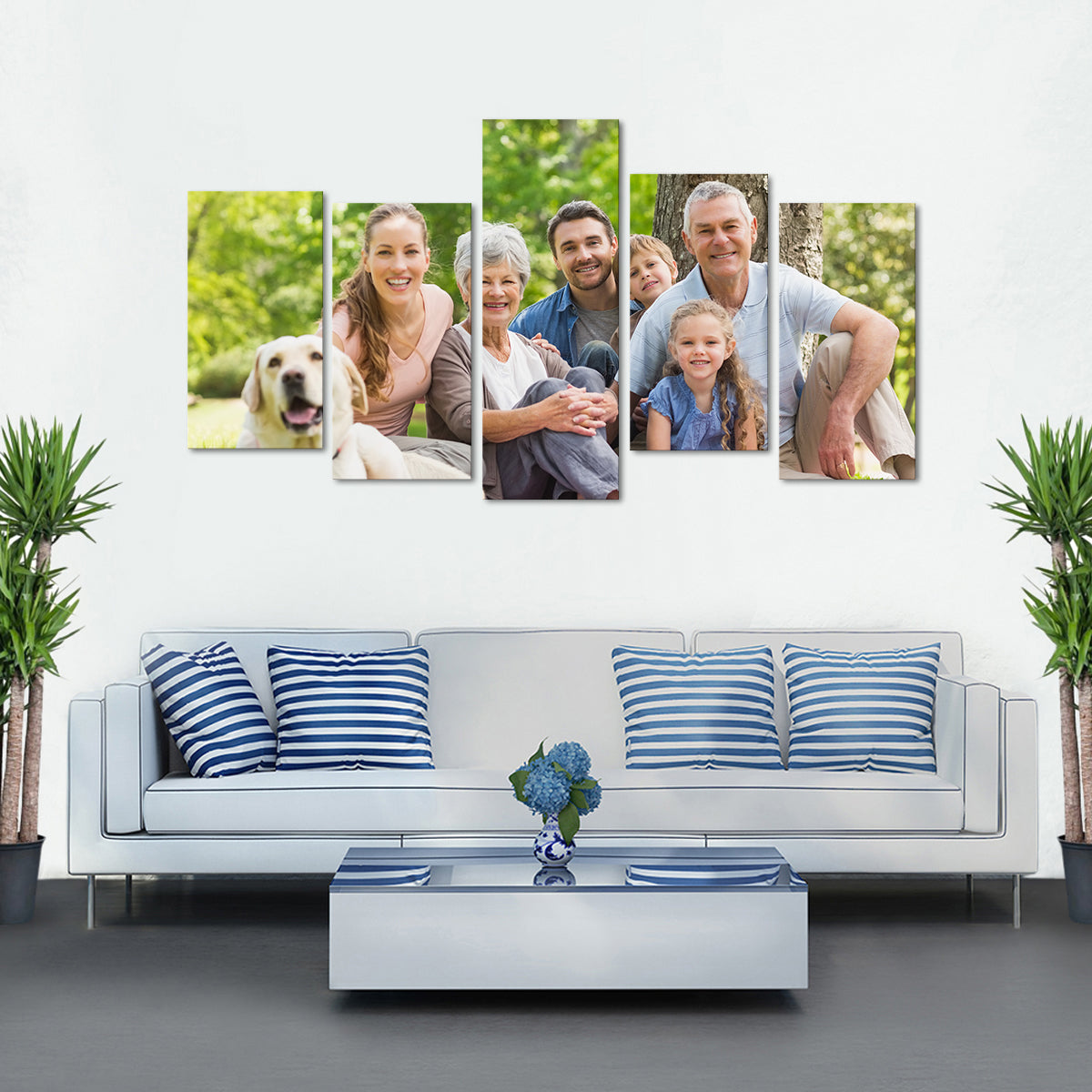Custom Wide Horizontal Canvas Photo Prints