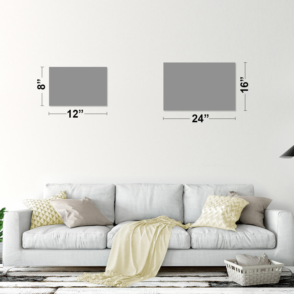 Scales of Justice Multi Panel Canvas Wall Art