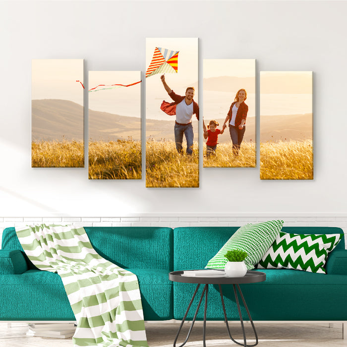 Custom canvas photo print
