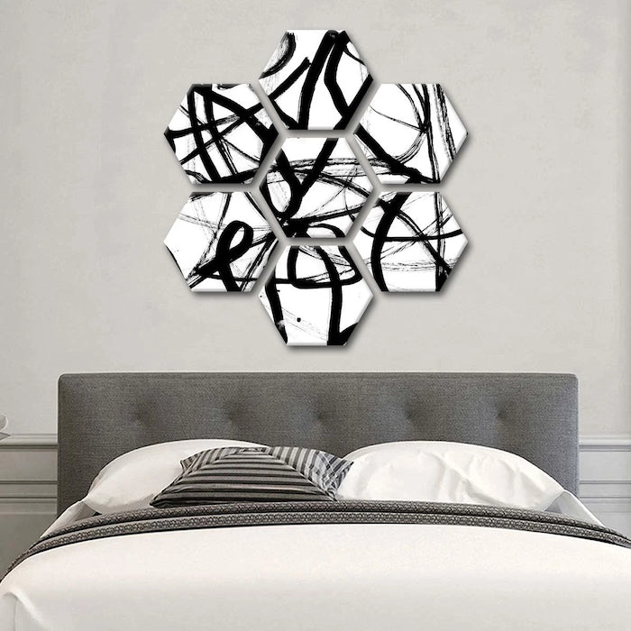 contemporary wall art for bedroom