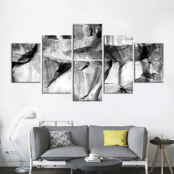 Black & White - Large Canvas Wall Art Sub Collection