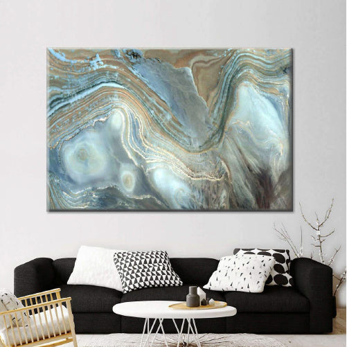 Abstract Landscape Multi Panel Canvas Wall Art