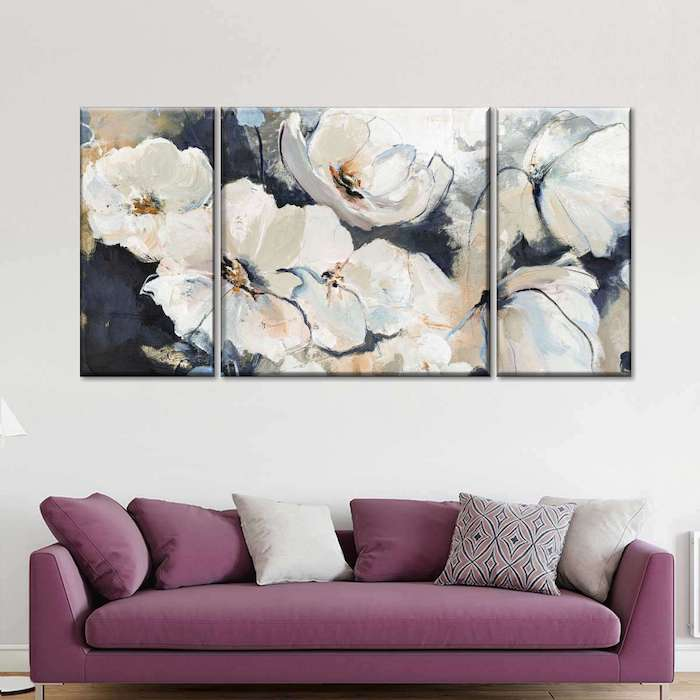 abstract painting for living room