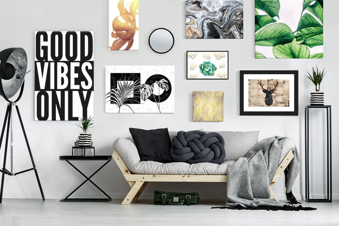 Gallery wall canvas prints