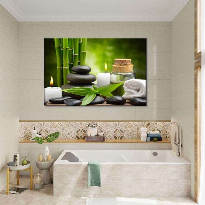 bathroom wall picture ideas
