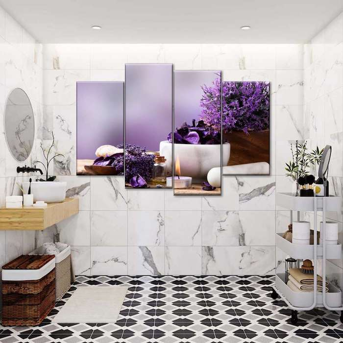 bathroom wall art pictures
