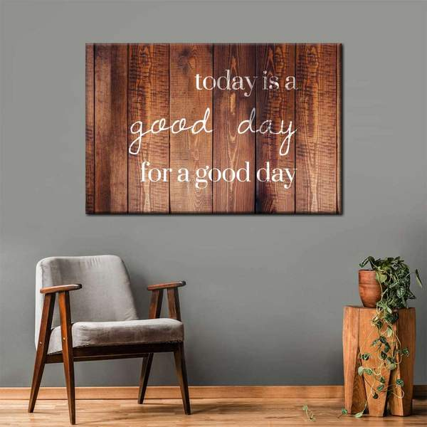 Good Day Canvas Wall Art