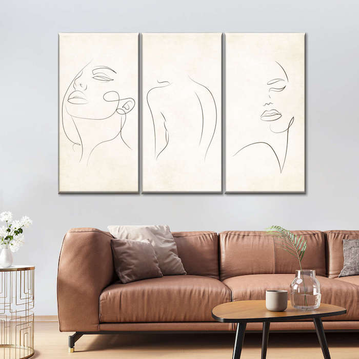canvas painting for living room