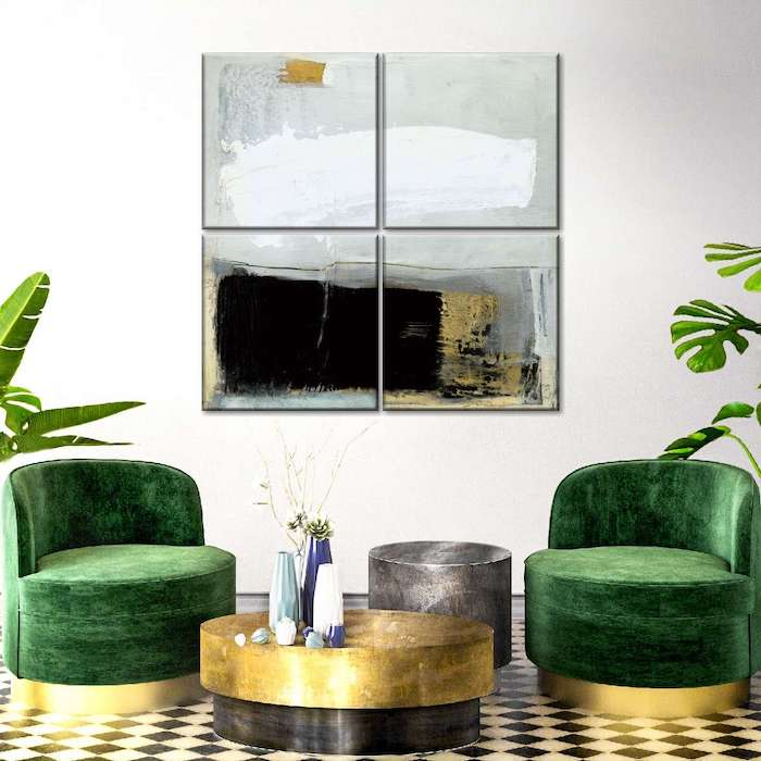 contemporary wall paintings