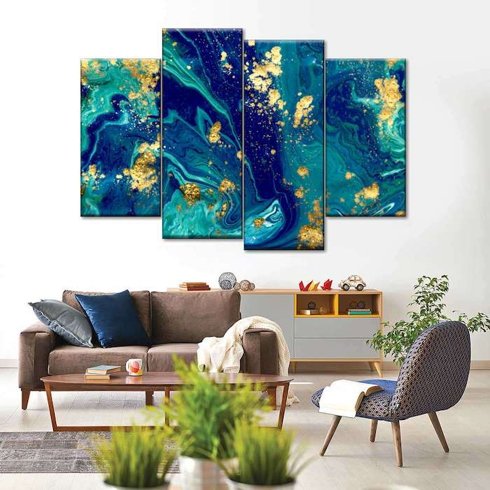 living room wall picture ideas