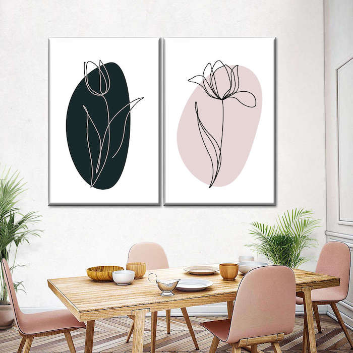 dining room wall art painting