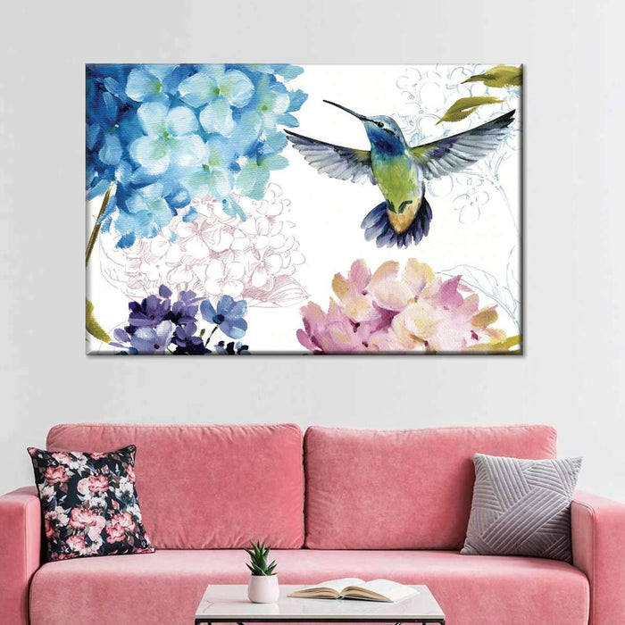 Spring Nectar III Multi Panel Canvas Wall Art