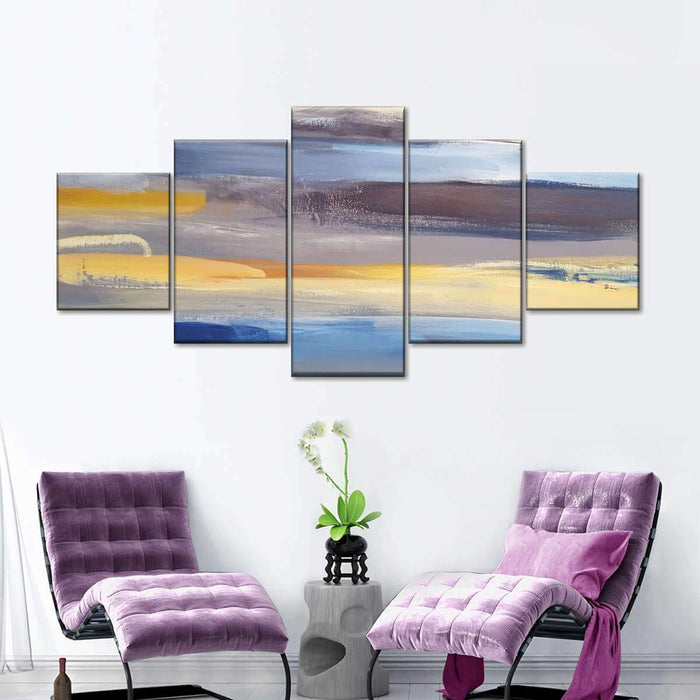 Colors Of Expression Multi Panel Canvas Wall Art