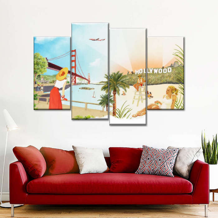 home theater wall art