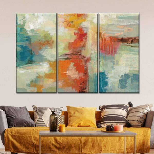 Coral Reef Multi Panel Canvas Wall Art