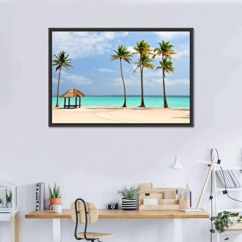 Dominican Republic Paradise Multi Panel Canvas Wall Art
