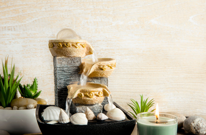 fountain Feng shui home decor