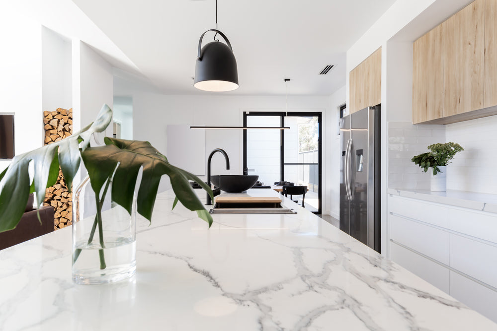Decorating with marble