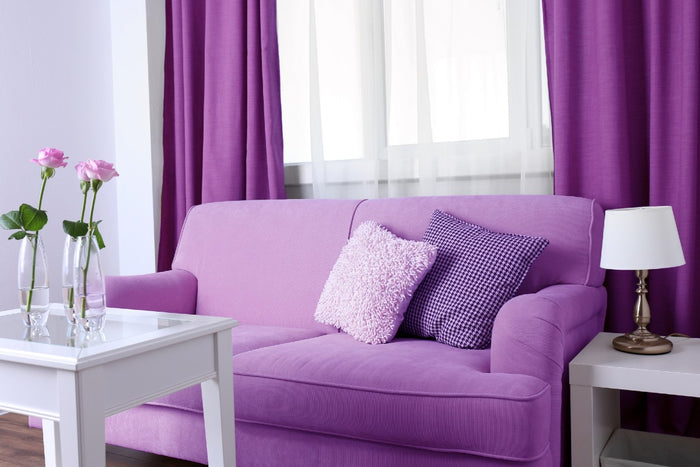Purple home decor