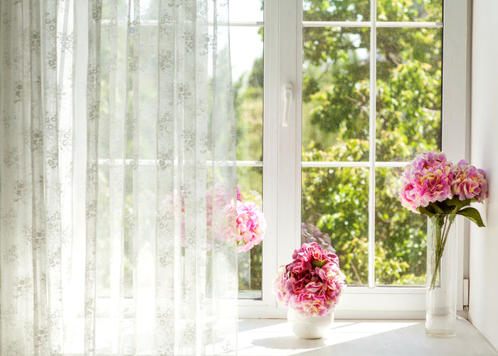 Beautiful window home decor