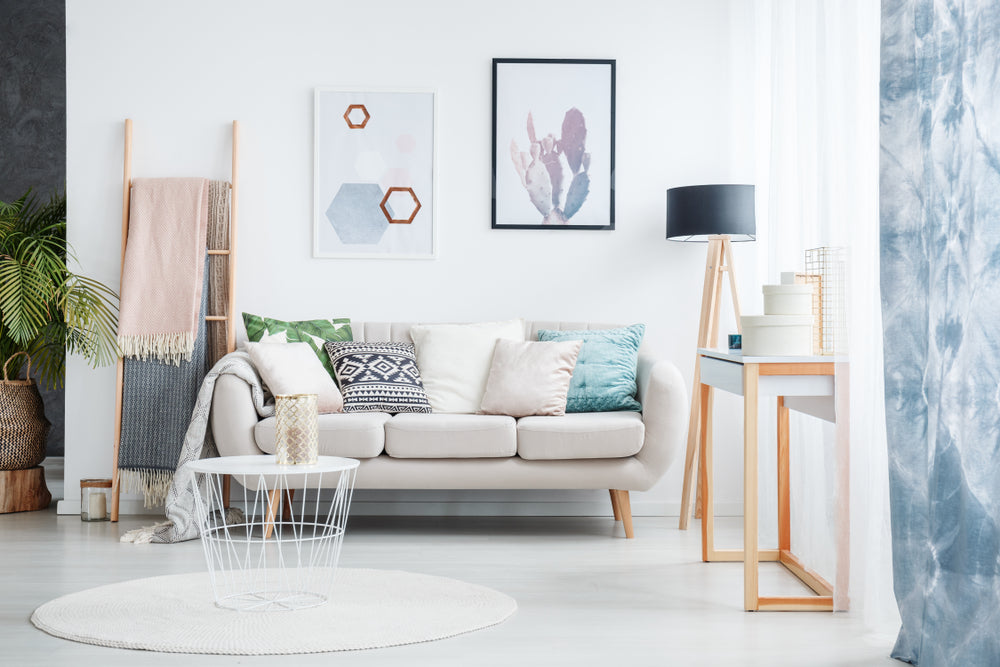 Mix Neutrals and Statement Colors