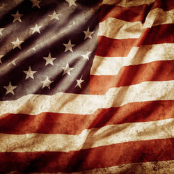 American Flags - Flags Canvas Wall Art Sub Collection
