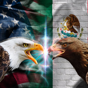 American Allies - Flags Canvas Wall Art Sub Collection