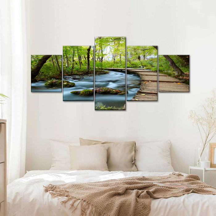 Zen wall art canvas print