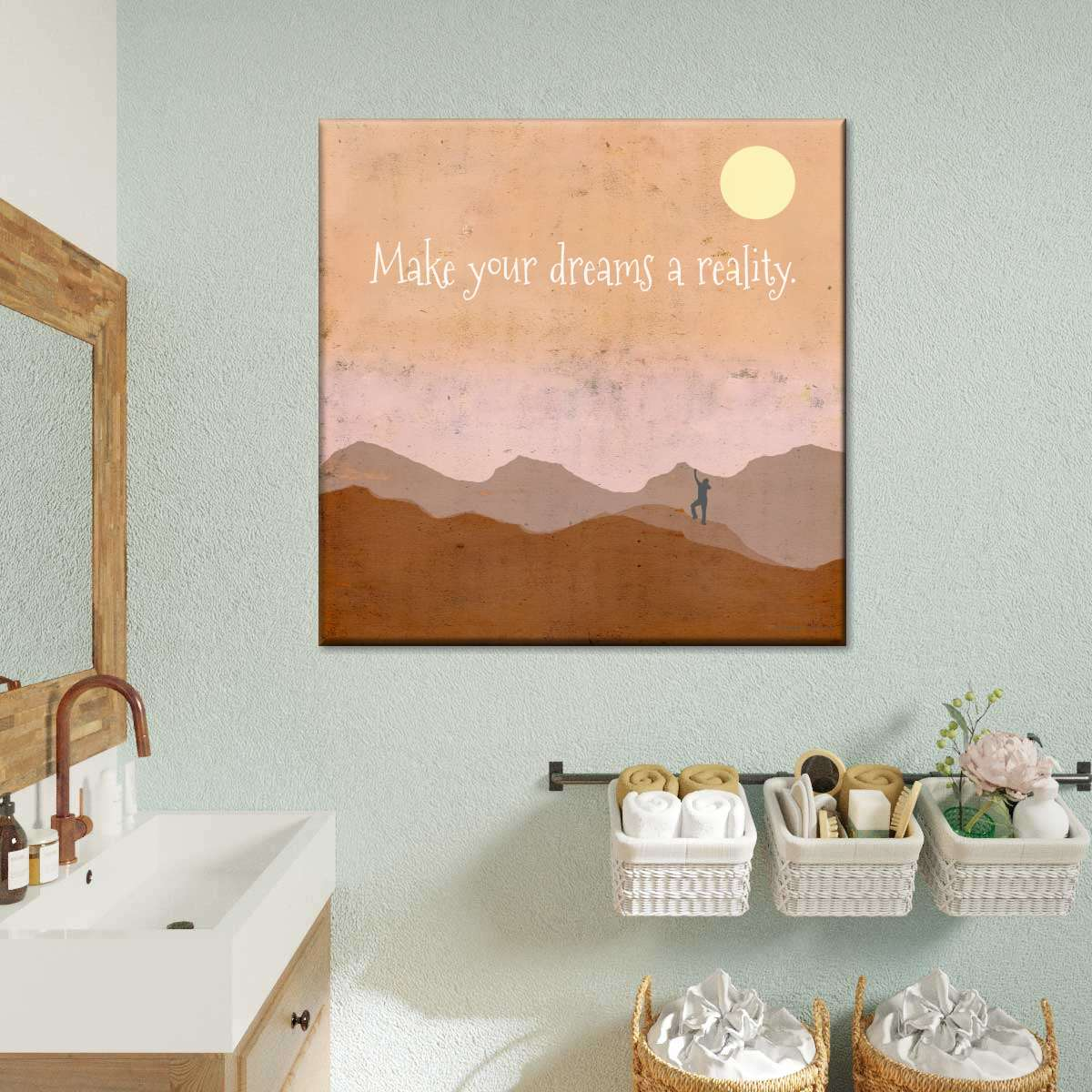 Make Your Dreams A Reality Multi Panel Canvas Wall Art