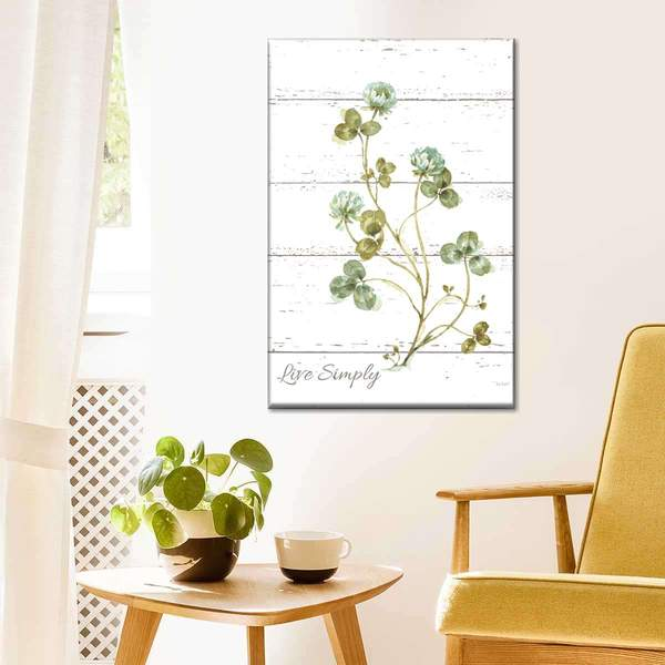 My Greenhouse Clover Live Simply Multi Panel Canvas Wall Art