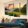 Rainbow Multi Panel Canvas Wall Art