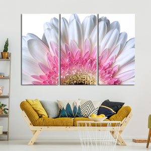 Dazzling Flower Petals Multi Panel Canvas Wall Art - Flower